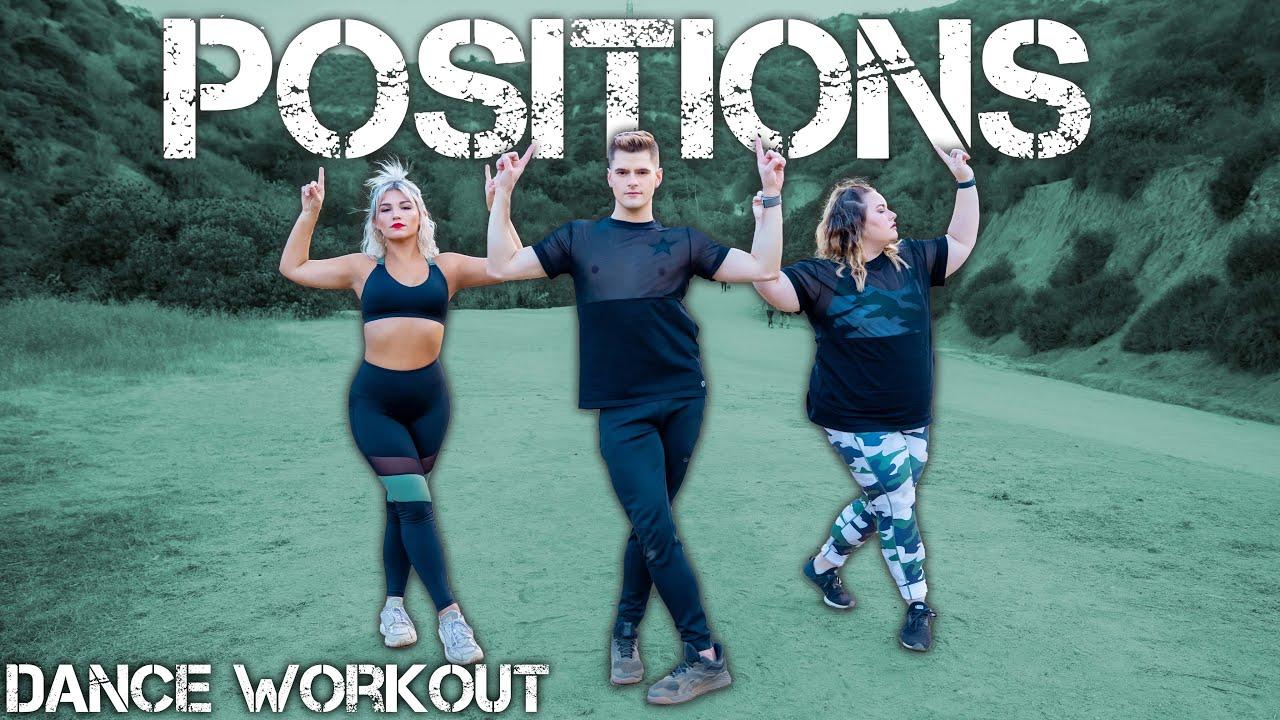 Ariana Grande - positions | Caleb Marshall | Dance Workout