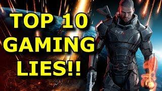 TOP 10 Biggest Gaming LIES!