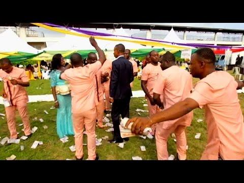 This wedding Party is called Money Everywhere. Ify wed Okwy