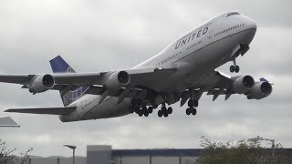 Heavy Departures at London Heathrow Airport, RW27R | 24-10-17