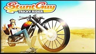 Stunt Guy Tricky Rider - Game Walkthrough (all 1-8 lvl)