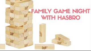 Family Game Night with Hasbro Games