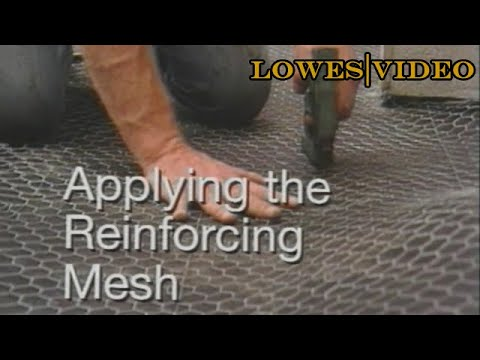 How To Lay Tile Floors With A Wire Mesh Youtube