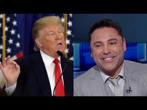 Oscar De La Hoya: I'll come out of retirement to fight Trump