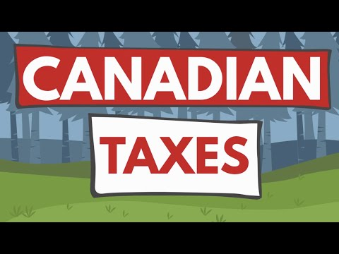 EASY EXAMPLES Of HOW TAX WORKS In CANADA 2020