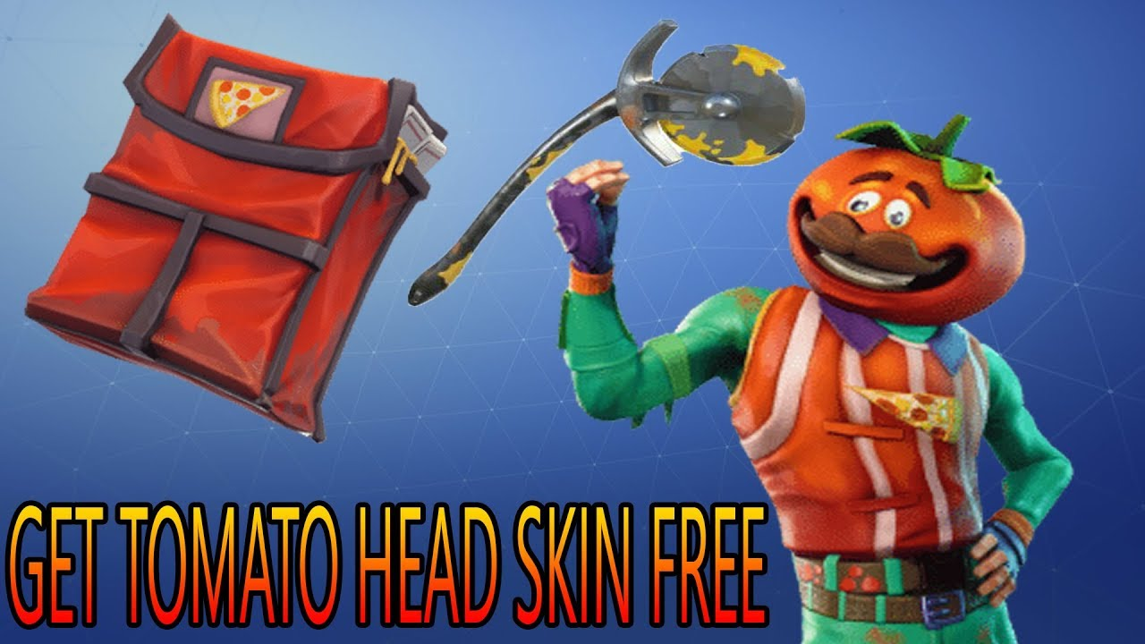 Fortnite How To Get Tomato Head Skin For Free And Early In The
