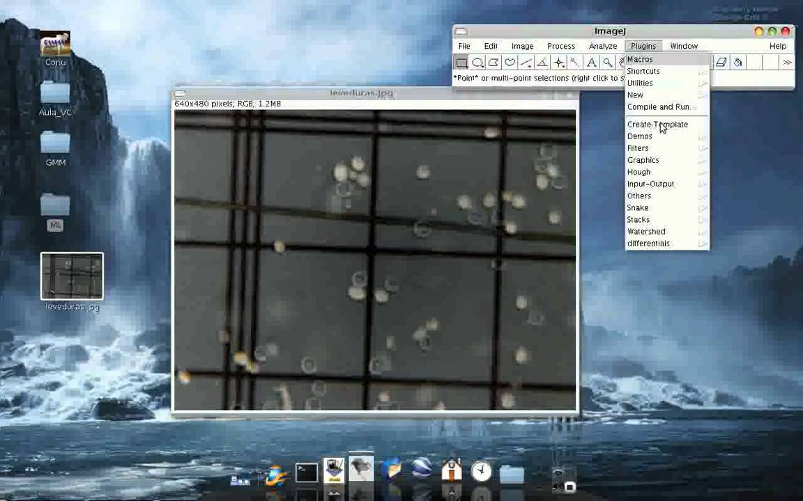 Exemplos Imagej: Template Matching - YouTube