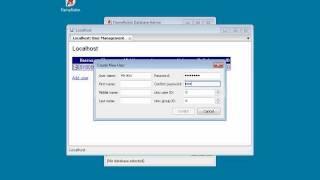Як керувати базу даних Firebird псевдонім Flamerobin підручник