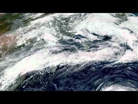 Earth From Space - Aug 20, 2015: Japan, Korea, Beijing & Shanghai