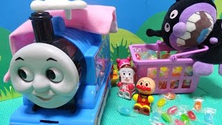 アンパンマン バイキンマン おもちゃ トーマス お菓子 ピクニック♡アンパンおねえさん♡ thumbnail