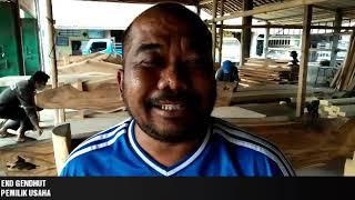 Pembuatan Meubel Kayu Trembesi Nan Cantik Ada Di Desa Kalisari