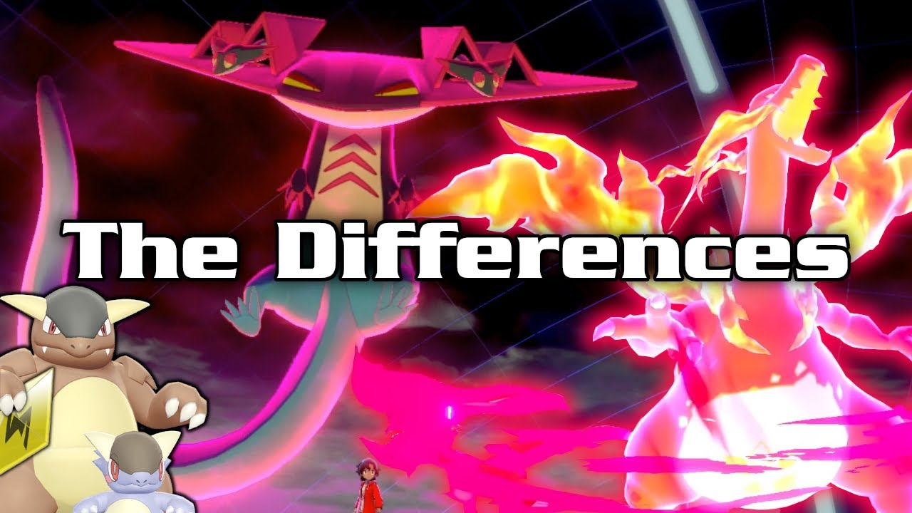 The Differences Between Dynamax, Gigantamax, Mega Evolutions, And Z Moves  In Pokémon Sword & Shield - YouTube