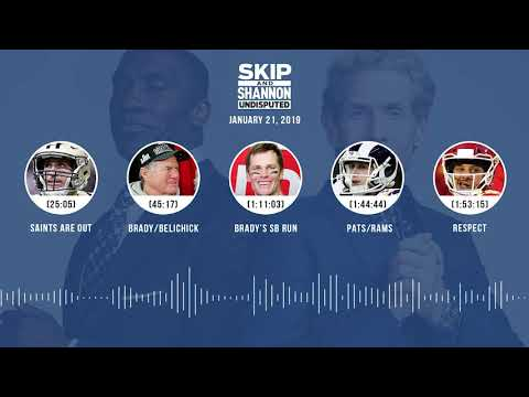 UNDISPUTED Audio Podcast (01.21.19) with Skip Bayless, Shannon Sharpe & Jenny Taft | UNDISPUTED