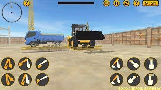 Excavator Simulator Construction Road Builder 2019 - Android Gameplay#2 FHD