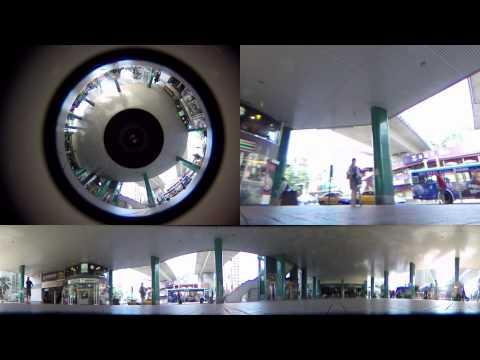 Tateyama (立山) PALNON 360 Panoramic Annular Lens Testing - 3