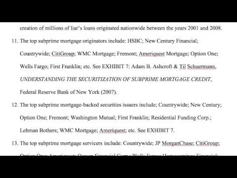 MJI Mortgage Fraud RICO Complaint
