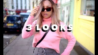 3 EVERYDAY LOOKS | Samantha Maria