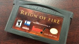 CGR Undertow - REIGN OF FIRE review for Game Boy Advance