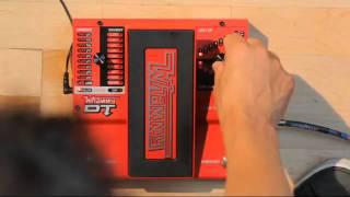 DIGITECH Whammy DT - Dive bomb, capo, pitch filter, drop tune - Démo