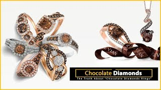 Chocolate Diamonds Rings: The Le Vian Collection. Which flavor do you favor?