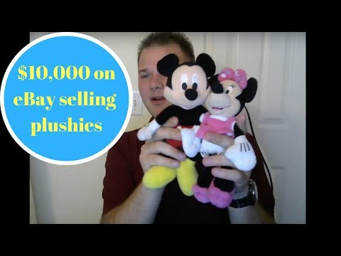How to make $10,000 on Ebay selling stuffed animals & plushies.
