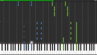 How to play Caramelldansen on piano