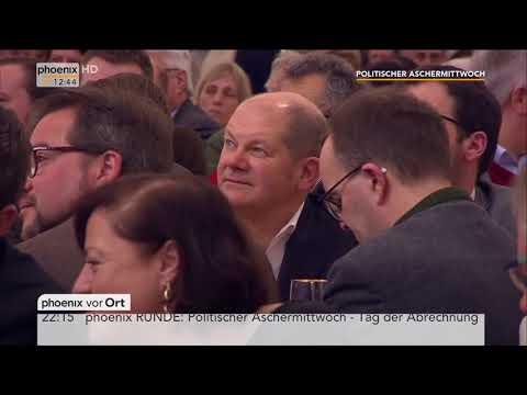 Politischer Aschermittwoch der SPD mit Reden von Natascha Kohnen und Olaf Scholz  am 14.02.18
