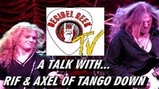 Decibel Geek TV talks with Rif & Axel of Tango Down