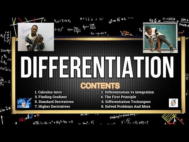 Differentiation For Schools, Jamb & Waec (Simplified)