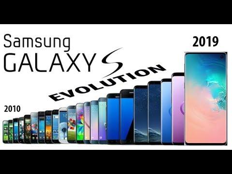 SAMSUNG GALAXY S SERIES EVOLUTION 2010 - 2019