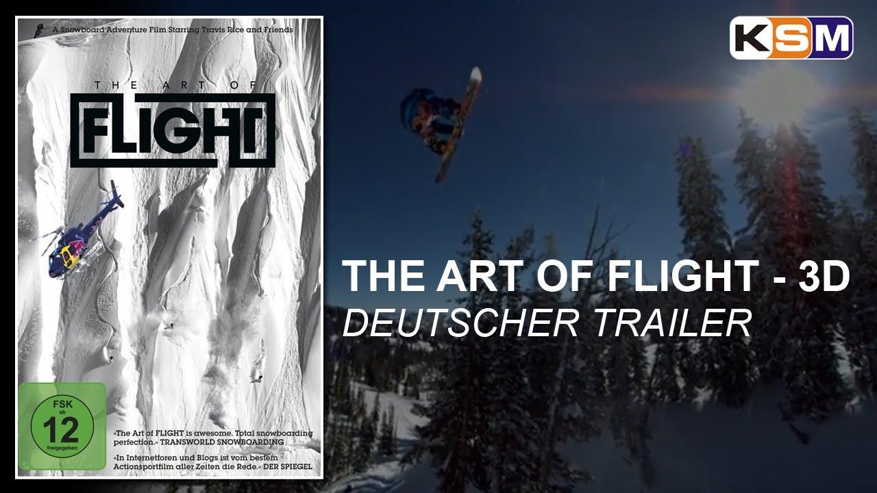 The Art Of Flight - 3D (Deutscher Trailer) || KSM