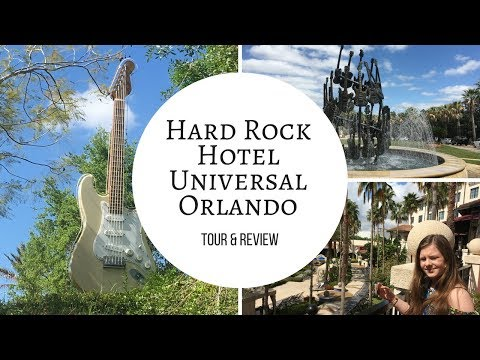 Hard Rock Hotel Universal Orlando Tour 2018 & Review