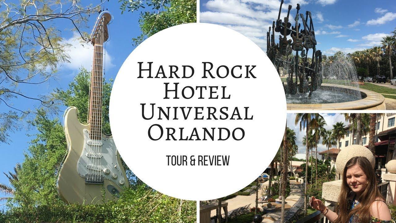 Hard Rock Hotel Universal Orlando Tour 2018 & Review - YouTube