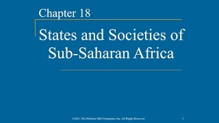 Video AP World History - Ch.18 - States & Societies of Sub-Saharan Africa download MP3, 3GP, MP4, WEBM, AVI, FLV April 2017