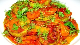 Вкусно - #СОТЕ из Кабачков Овощное СОТЕ Блюда из Кабачков #Рецепт