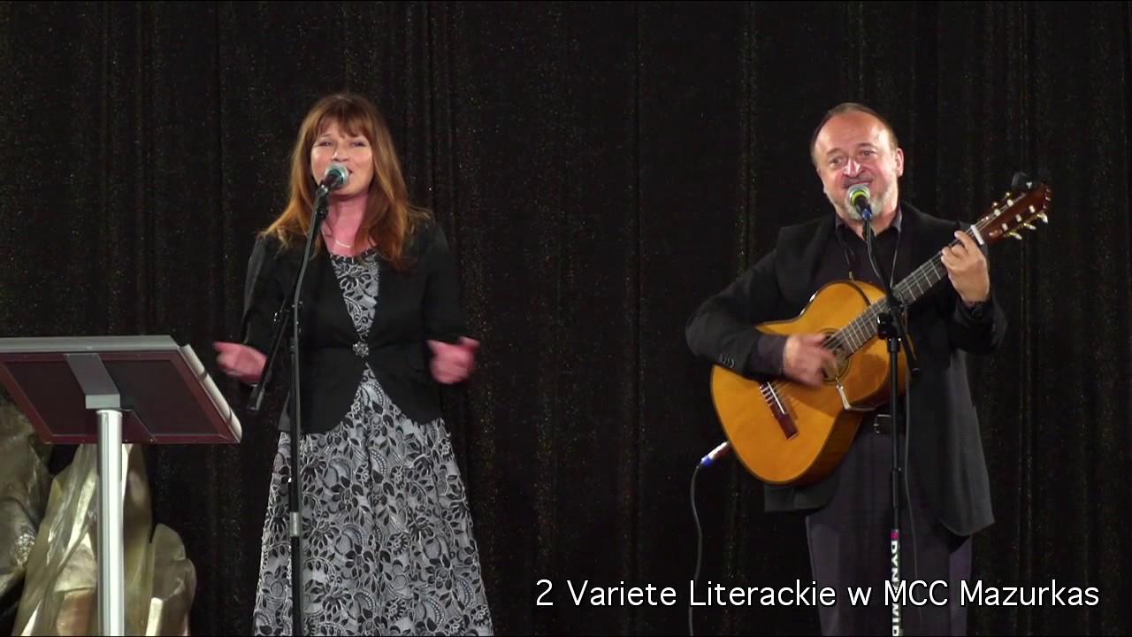 2 Variete Literackie - Marek Majewski i Katarzyna Jamróz - duet z klasą