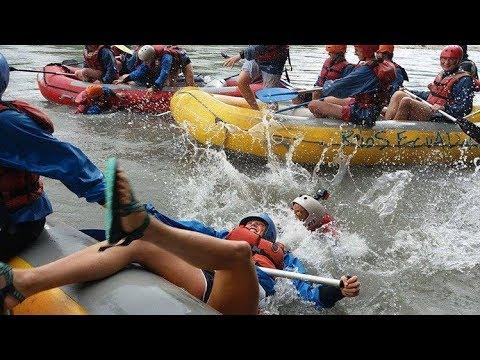 AMAZON JUNGLE RAFTING Down The Jatunyacu River In Tena Ecuador - DJI SPARK