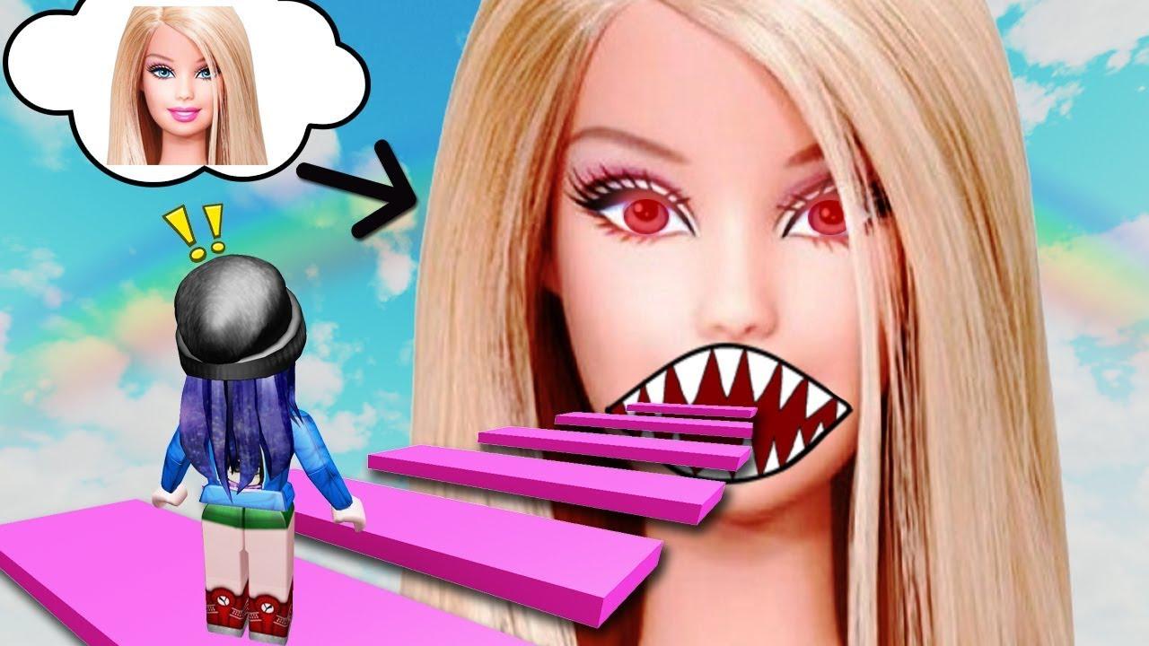 Roblox Devil Hair - ตกตาผบารบ มนจะจบเรากนแลว Roblox Barbie Devil