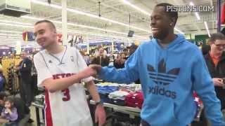 Dunham's Contest Winner Plays P-I-G with Rodney Stuckey (Dunham's Sports)