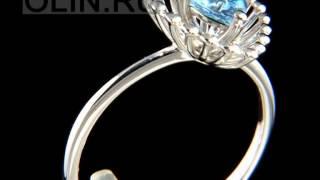 Кольцо «Триллион» из белого золота с топазом(, 2015-06-15T12:26:39.000Z)