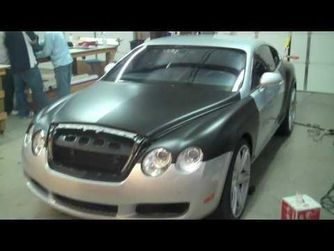 "DG Motoring ""CLOWNIN"" Bentley GT built for Cortland Finnegan"