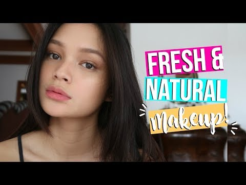 Fresh & Natural Makeup Tutorial