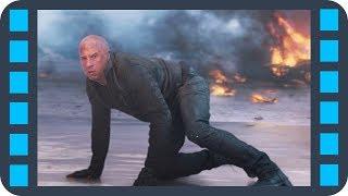 Торетто уводит на себя ракету с тепловым наведением — «Форсаж 8» (2017) сцена 7/7 HD