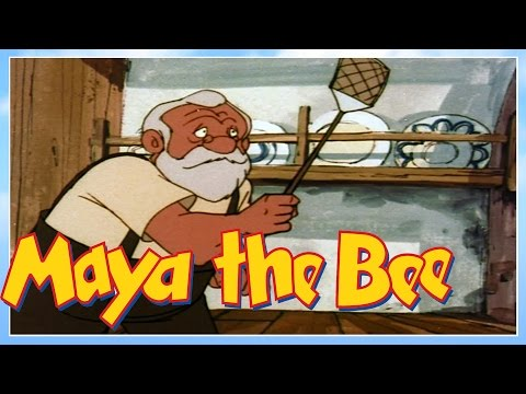 Maya the bee - Episode 5 - Maya And The Housefly Puck - Classic Series