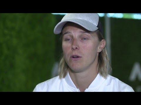Kirsten Flipkens on playing Fed Cup for Belgium