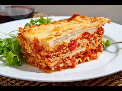 Home Made Vegetable Lasagne