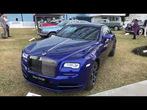 Walk Through Exclusive Supercar Event The Gulf Concours 2017