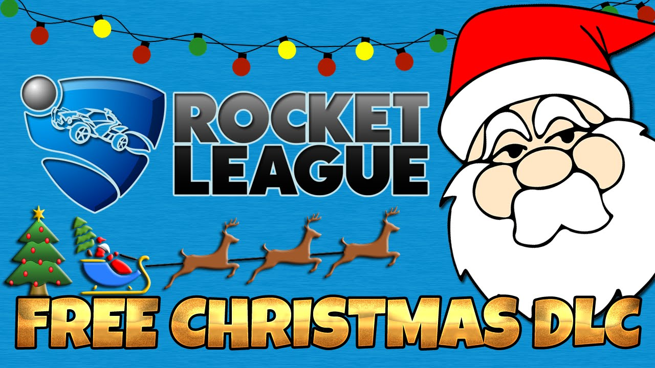 FREE CHRISTMAS DLC UNLOCKED | ROCKET LEAGUE - YouTube