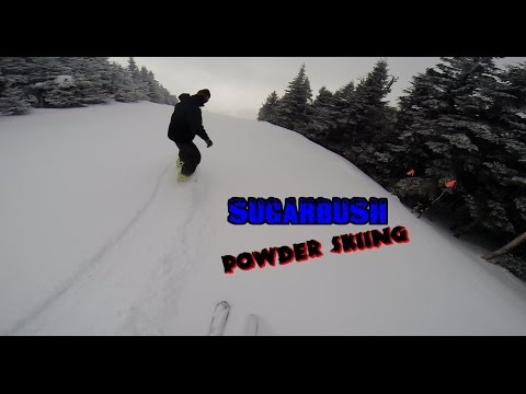 Sugarbush 2015 Powder Skiing and Glades (HD)