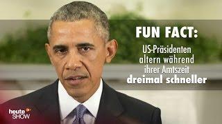 Fun Fact: US-Präsidenten altern während ihrer Amtszeit dreimal schneller